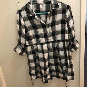 Plaited Maternity Shirt